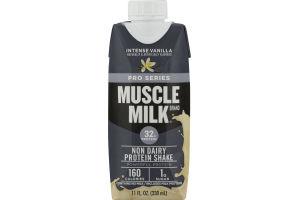 Muscle Milk Pro Series Non Dairy Protein Shake Intense Vanilla