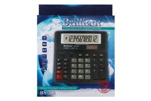 Калькулятор електронний №BS-312 Brilliant 1шт