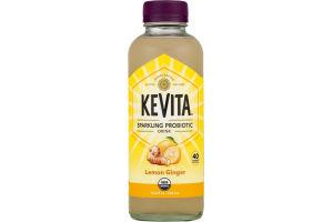 KeVita Sparkling Probiotic Drink Lemon Ginger