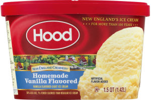Hood Ice Cream New England Creamery Homemade Vanilla Flavored
