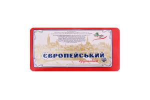 Сир 45% твердий Європейський Чортків кг