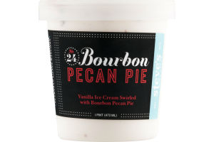 Steve's Ice Cream Bourbon Pecan Pie
