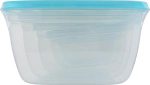 Н-р контейнеров д/продуктов пластик 5шт D01
