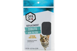Cat & Co. Zeolite Air Filter Replacement
