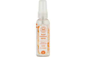 The Honest Co. Hand Sanitizer Spray Orange With Aloe
