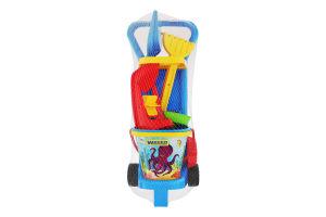 Набор игрушек для детей от 12мес №10771 На пляже Wader 1шт