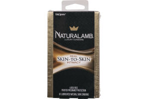 Trojan Naturalamb Luxury Condoms Skin-To-Skin - 10 CT