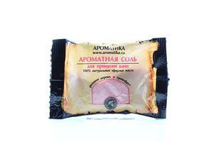 Соль для ванн розовое дерево-грейпфрут Ароматика 100г
