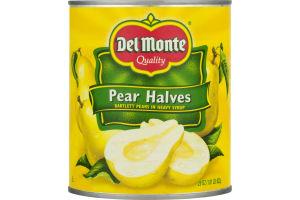 Del Monte Pear Halves In Heavy Syrup