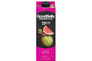GoodBelly Probiotics Juice Drink Cranberry Watermelon