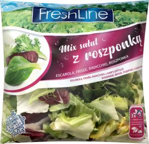 Салат Fresh Line мікс Cesarski 120г Польща