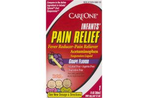 CareOne Infants' Pain Relief Suspension Liquid Grape Flavor