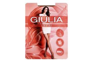 Колготки жіночі Giulia Like 40den 4-L daino