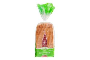 Хліб половинка в нарізці Тостовий Хлібодар м/у 225г