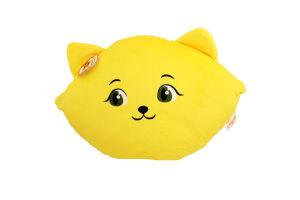 Подушка №ПД-0223 Кошка-смайл счастливый Tigres 1шт