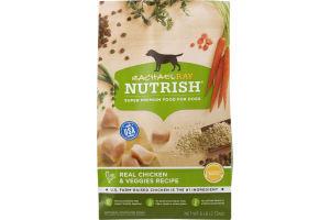 Rachael Ray Nutrish Dog Food Real Chicken & Veggies