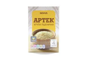 Крупа пшеничная в пакетиках АртекNovus к/у 4х70г
