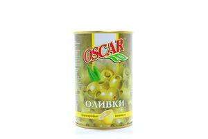 Оливки фаршированные лимоном Oscar ж/б 300г
