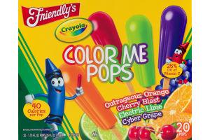 Friendly's Crayola Color Me Pops - 20 CT