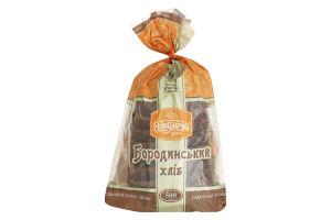 Хліб нарізний Бородинський Рум'янець м/у 500г