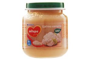 Пюре дитяче овочеве Цвітна капуста Milupa для дітей від 4 місяців 125г