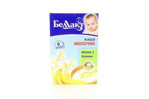 Каша детская молочная от 6 мес Овсяная с бананом Беллакт к/у 250г