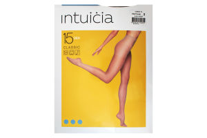 Колготки жіночі Intuicia Classic 15den 2 чорний