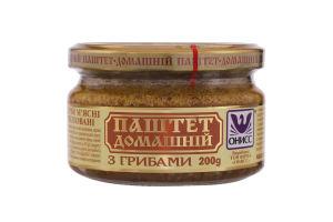 Паштет с грибами Домашний Онисс с/б 200г