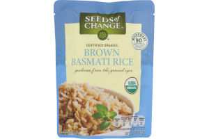 Seeds of Change Organic Brown Rice Basmati