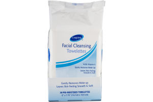 CareOne Facial Cleansing Towelettes - 30 CT