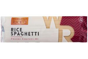 Спагетти рисовые World's rice м/у 450г