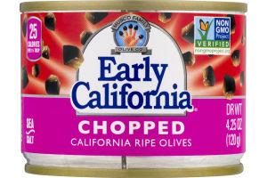 Musco Family Early California Chopped California Ripe Olives
