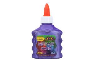 Клей МЕТАЛЛИК фиолетовый на PVA-основе, 88 мл