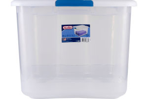 Sterilite Latch Box 66 Qt. White