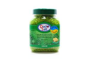Соль для ванн с перламутром Хвоя Doctor Salt 500г
