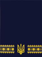 Щоденник датований темно-синій BM.2128-03 Ukraine Buromax 1шт