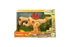 Конструктор для детей от 3лет №76809 Динозавр Велоцираптор Полесье 1шт