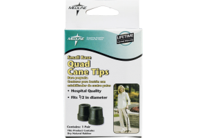 Medline Small Base Quad Cane Tips