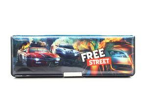 Пенал Free Street пласт. на магніті з чинкою 2 відділення