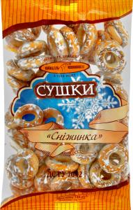 Сушки Сніжинка Київхліб м/у 340г