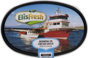 Eli's Fresh Herring In Cream Sauce