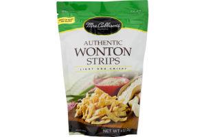 Mrs. Cubbison's Authentic Wonton Strips