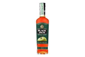 Напиток алкогольный 30% 0.5л солодовый Apple Black Jack бут
