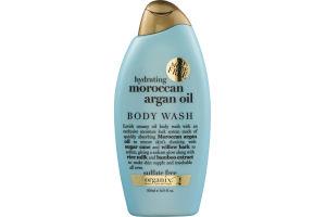 Organix Hydrating Moroccan Argan Oil Creamy Oil Body Wash 16.9 FL OZ