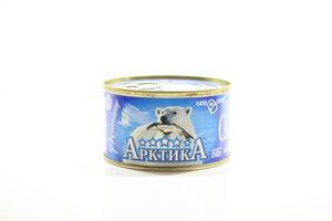 Сардина в масле Атлантическая Арктика 240г