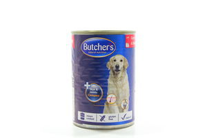 Корм Butcher's Plus шматочки дичина-яловичина 400г