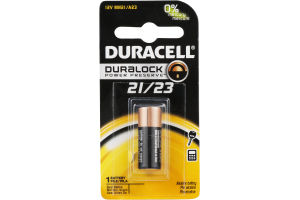 Duracell Duralock Battery 21/23