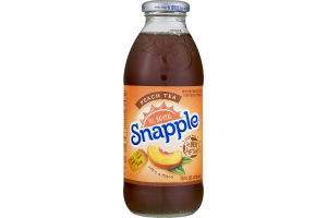 Snapple Juice Drink Peach Tea
