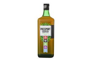 Віскі 1л 40% шотландське купажоване Passport Scotch пл