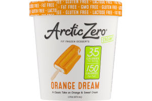 Arctic Zero Fit Frozen Desserts Orange Dream